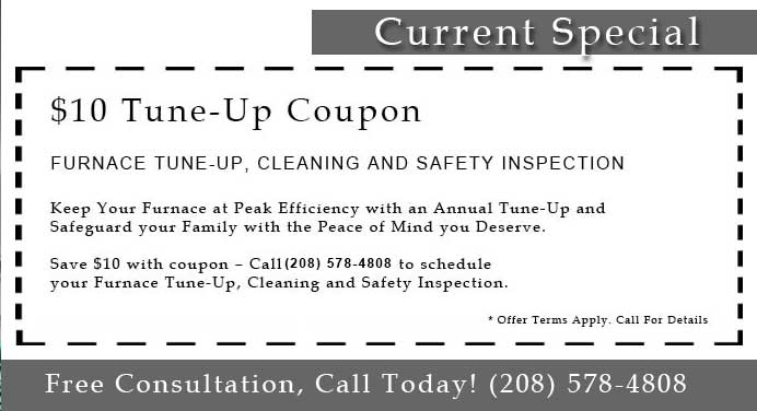 $10 Off Air Conditioning and Heating Tune-Up